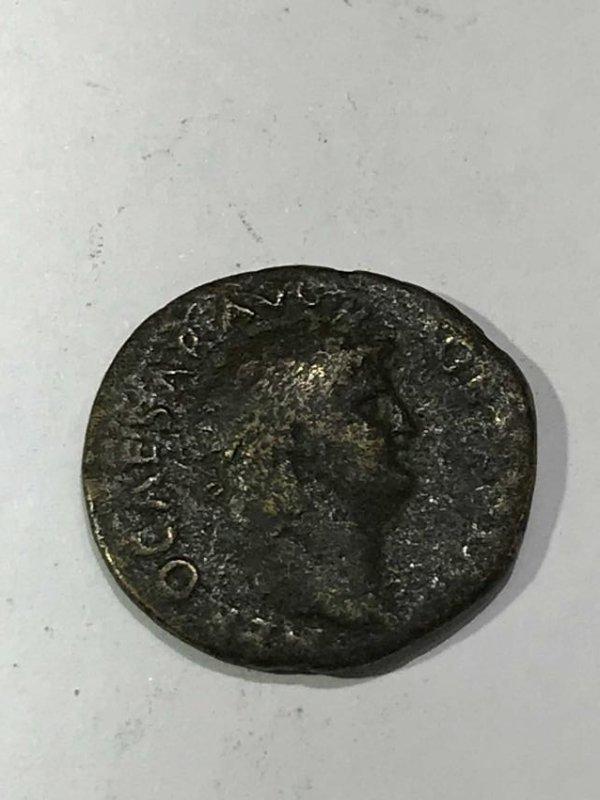 Roman Empire Nero Coin