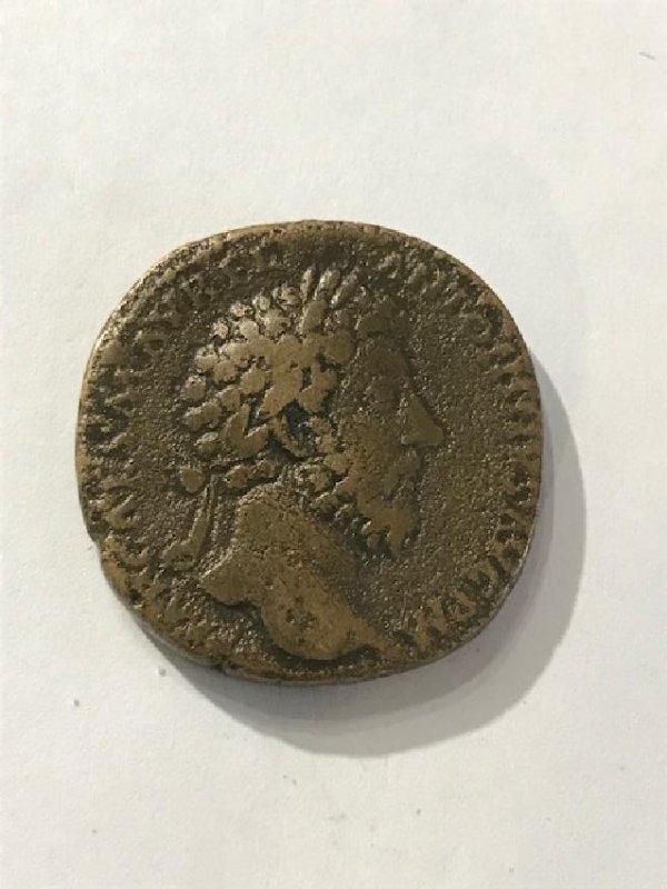 Roman Empire Marcus Aurelius Coin