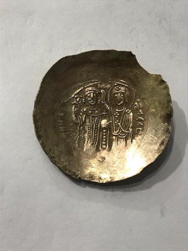 Byzantine Manuel I Kommenus Coin