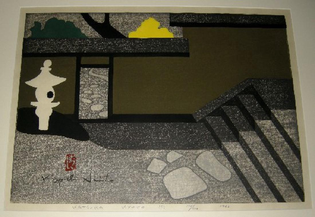 Kiyoshi Saito Woodblock Katsura Kyoto
