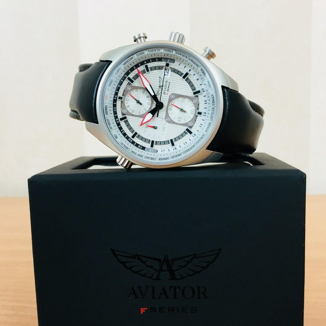 Aviator – Men's World Time Watch - 2