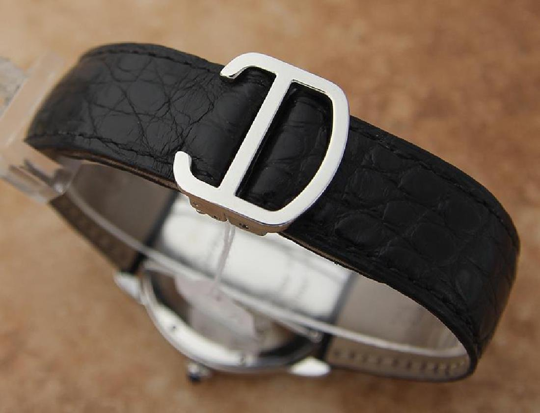 Cartier Ronde Men's 36mm Stainless Steel Quartz Watch - 9