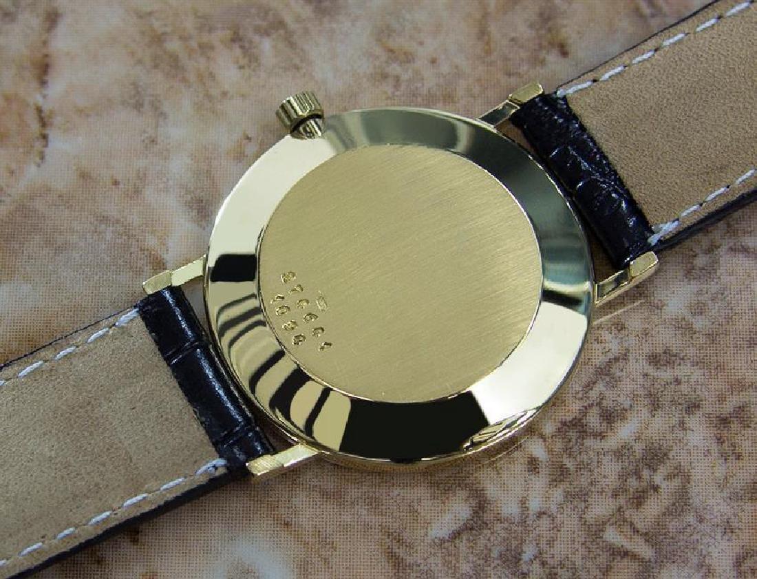 Chopard 18k Solid Gold Mens 1980s Quartz Watch - 9