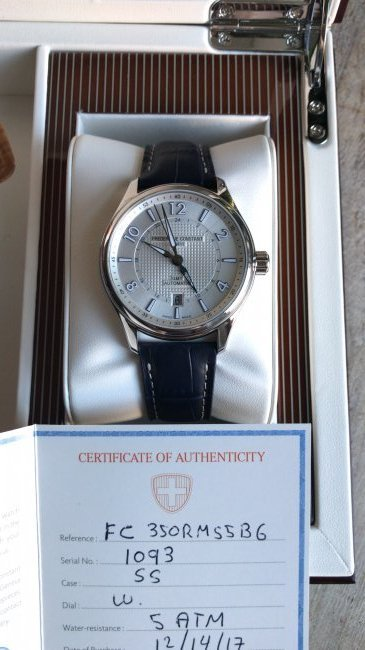 Frederique Constant Runabout Limited Edition Watch - 5