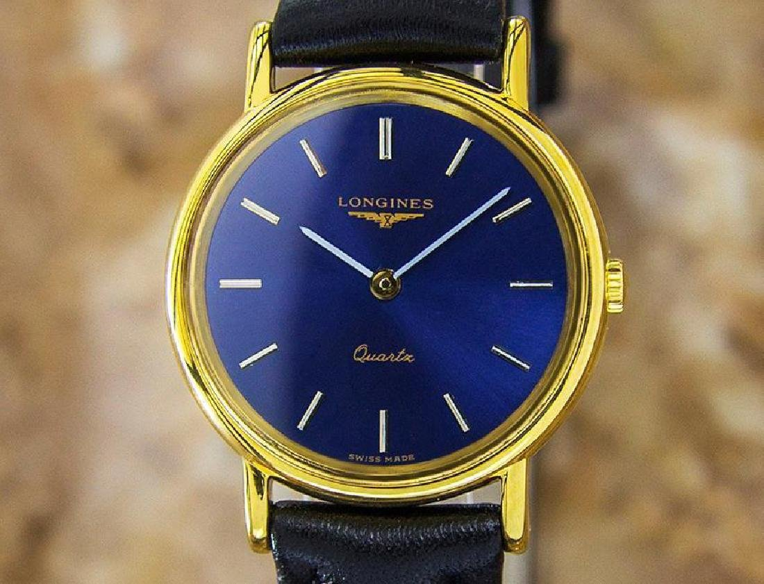 Longines Gold Plated Ladies Quartz Gold Dress Watch