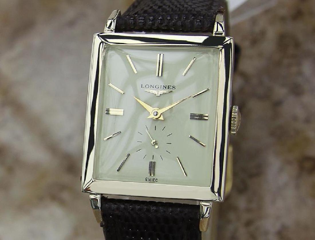 Vintage Longines Mens 14k Gold Filled Manual 1940 Watch