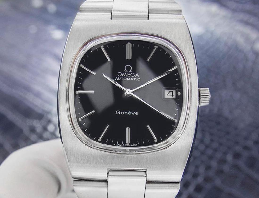Vintage Omega Stainless Steel Mens Automatic 1968 Watch