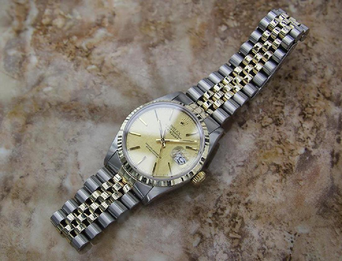 Rolex Quickset Datejust Gold Steel 1982 Automatic Watch - 6