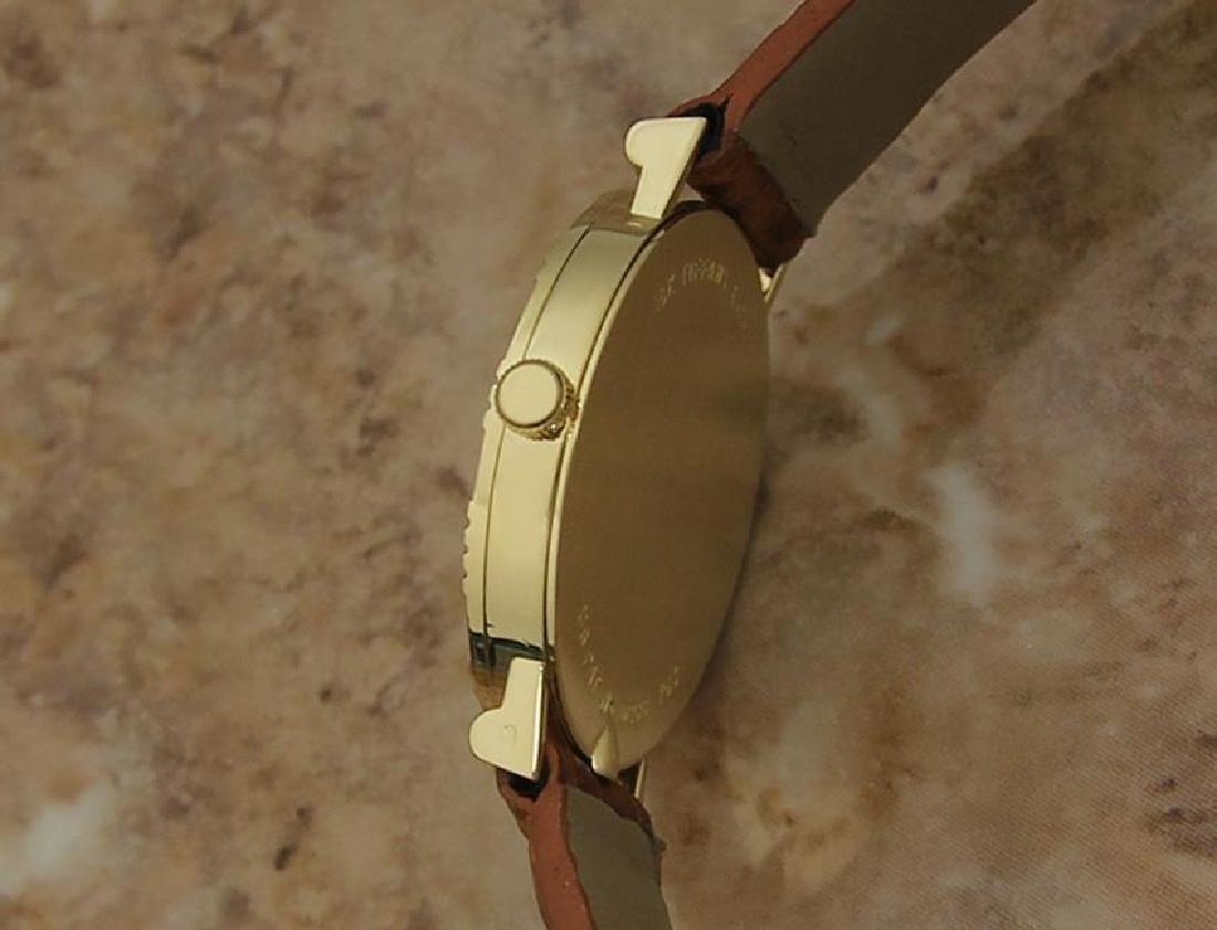 Tiffany & Co Atlas Luxury 18k Solid Gold Men's Watch - 4