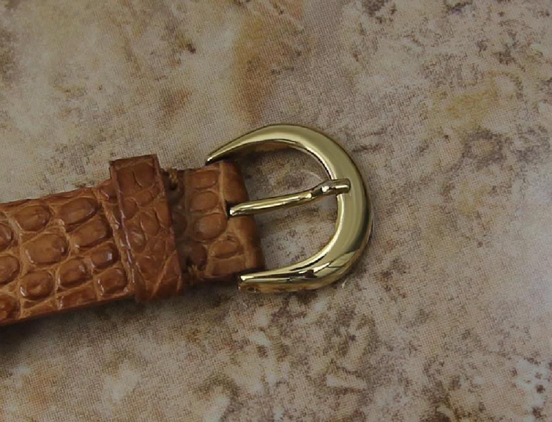 Tiffany & Co Atlas Luxury 18k Solid Gold Men's Watch - 7