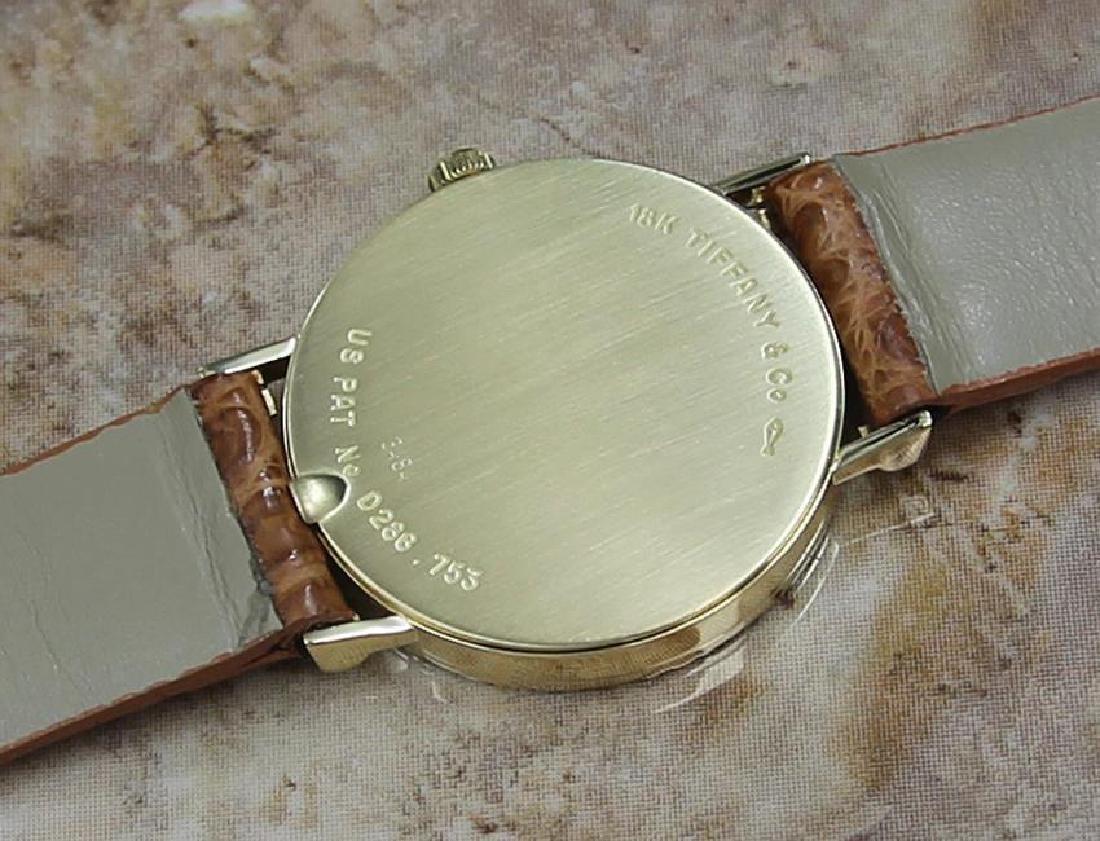 Tiffany & Co Atlas Luxury 18k Solid Gold Men's Watch - 8