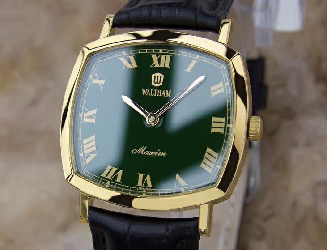 Vintage Waltham Men's 1970s Gold Plated Manual Watch