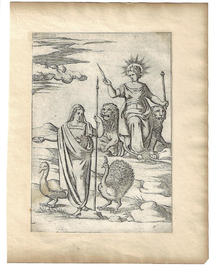 1587 Cartari Mythology Engraving