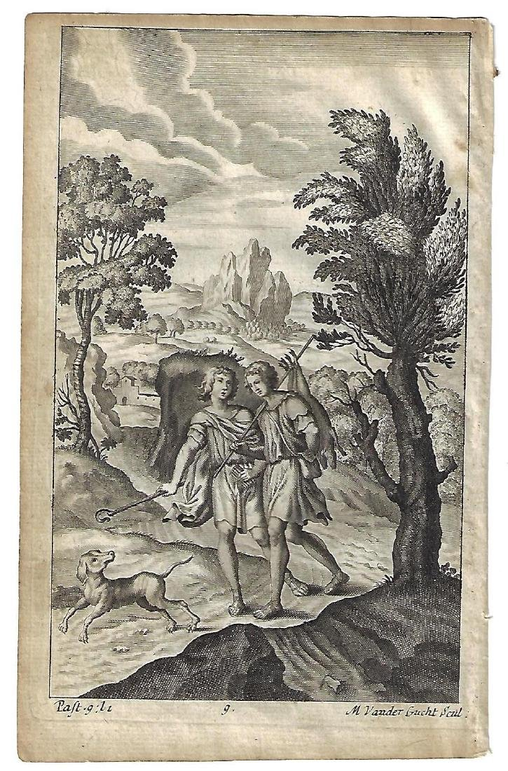 1709 Engraving from Dryden Virgil