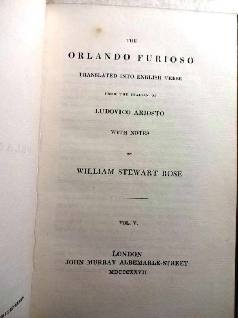 The Orlando Furioso Translated into English Verse