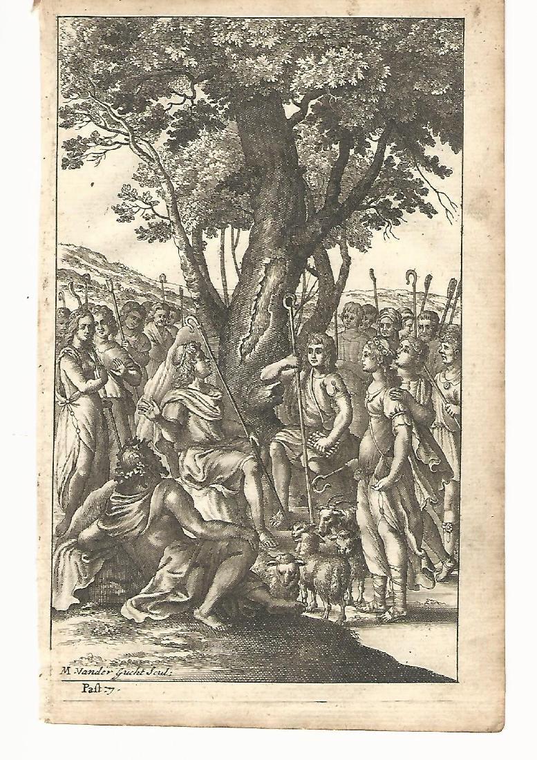 1709 Engraving from Dryden Virgil