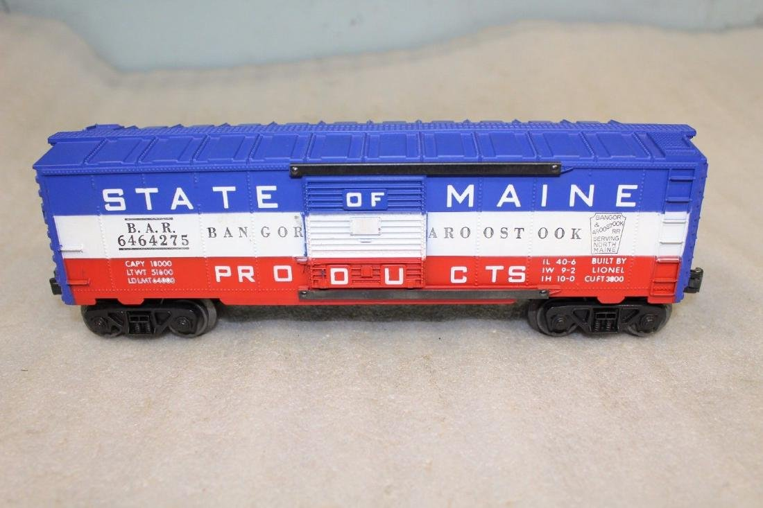Lionel Postwar 6464-275 State of Maine Boxcar
