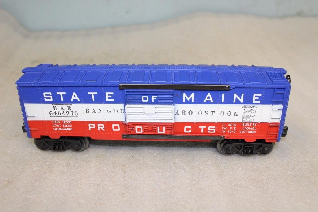 Lionel Postwar 6464-275 State of Maine Boxcar - 2