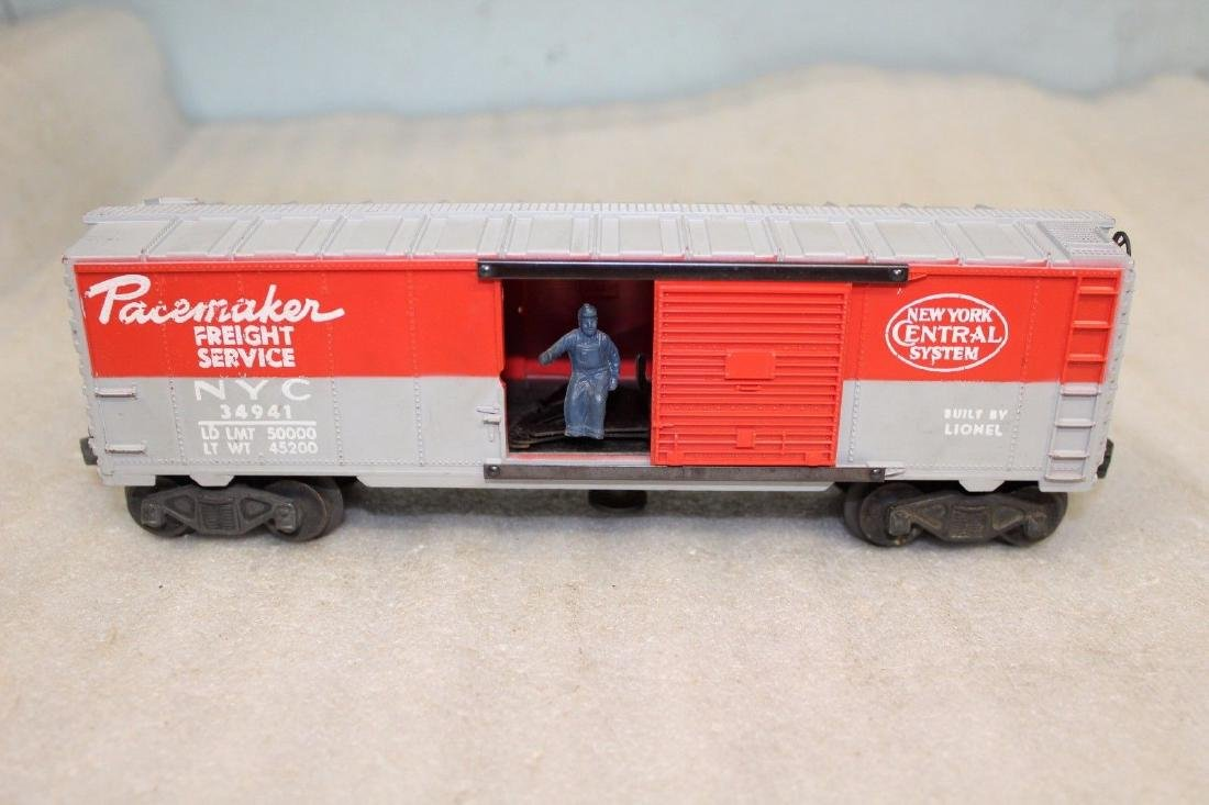Lionel Postwar 3494-1 NYC Pacemaker Operating Boxcar