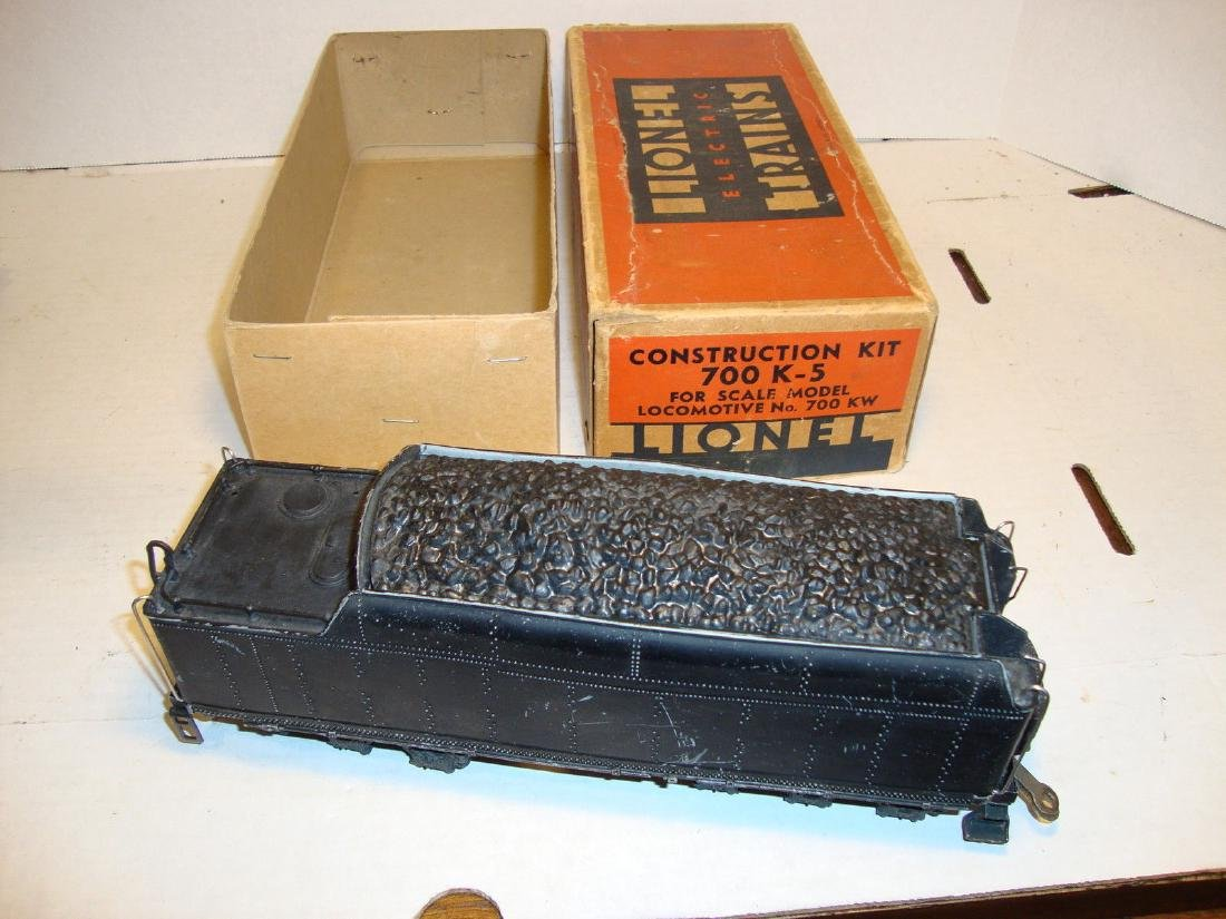 Lionel Prewar 700E K Tender with Original 700K-5 Box