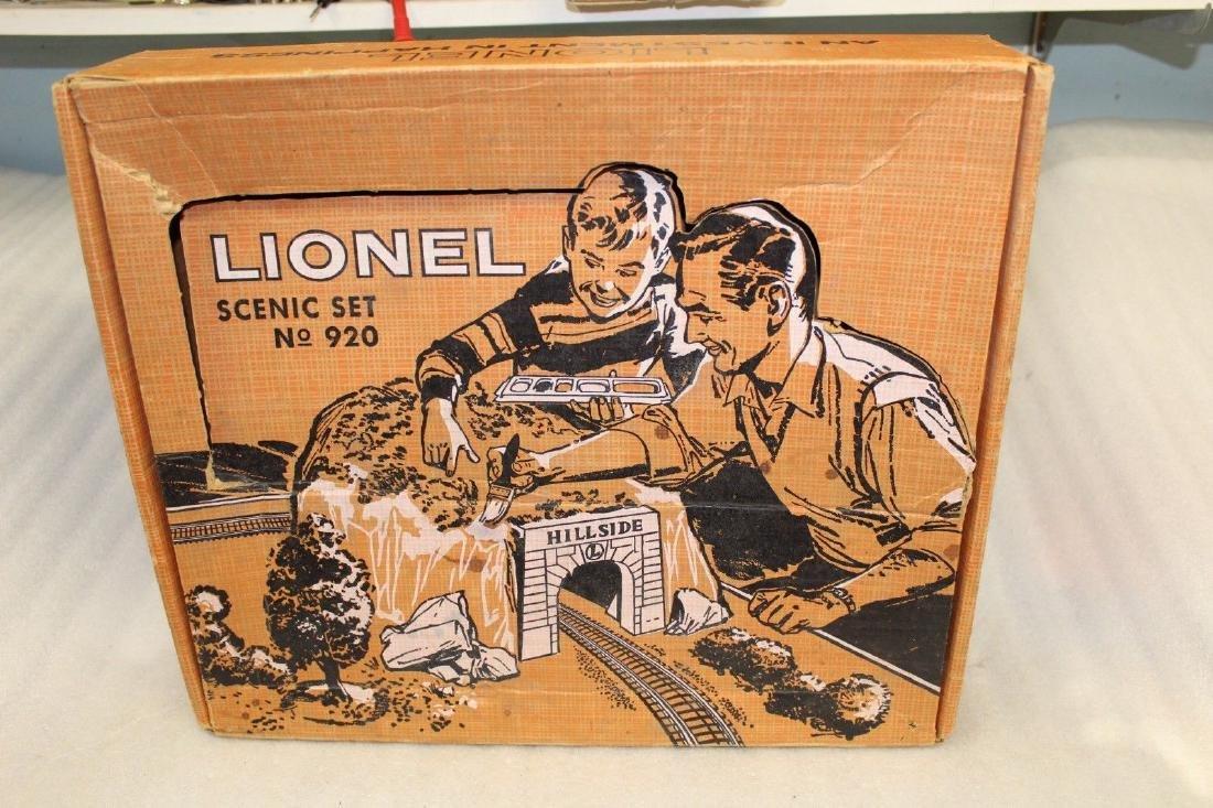 Lionel Postwar 920 Scenic Set Box