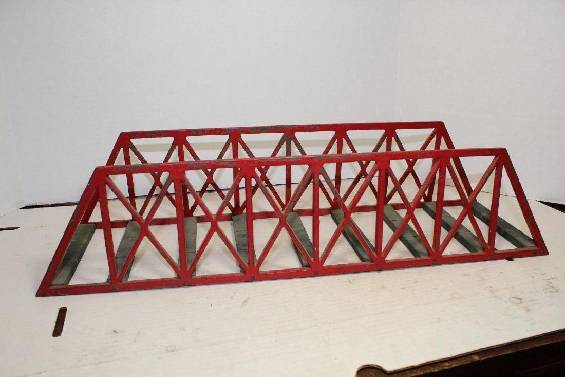 Carlisle & Finch C&F #56 Red Truss Bridge Track 1908