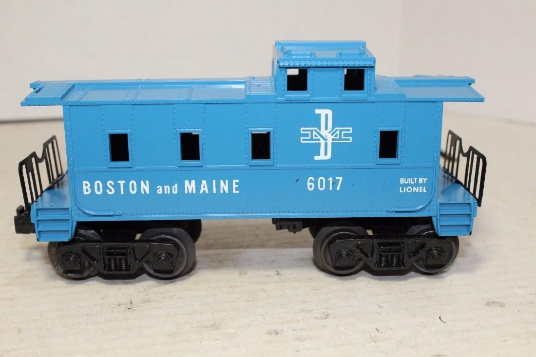 Lionel Postwar 6017-100 B&M Boston & Maine Caboose - 2