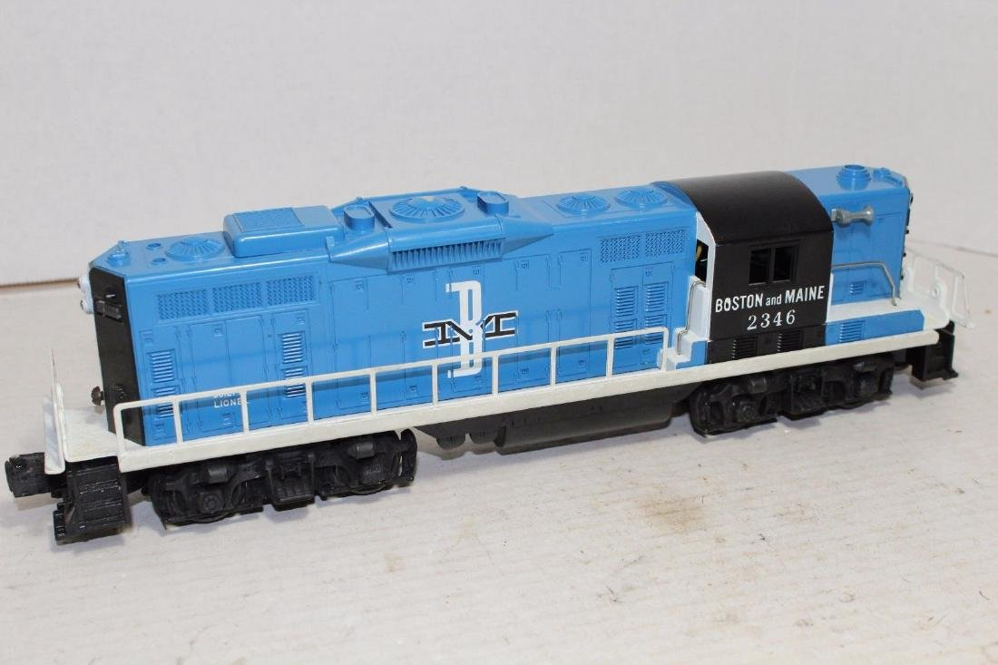 Lionel Postwar 2346 B&M Boston & Maine Diesel GP9 MINT