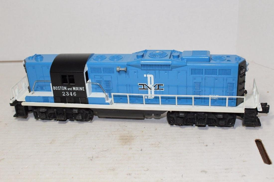 Lionel Postwar 2346 B&M Boston & Maine Diesel GP9 MINT - 2