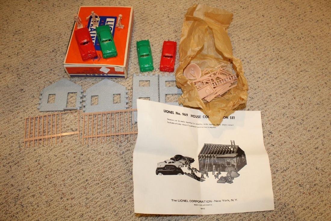 Lionel Postwar 969 Construction Set MINT