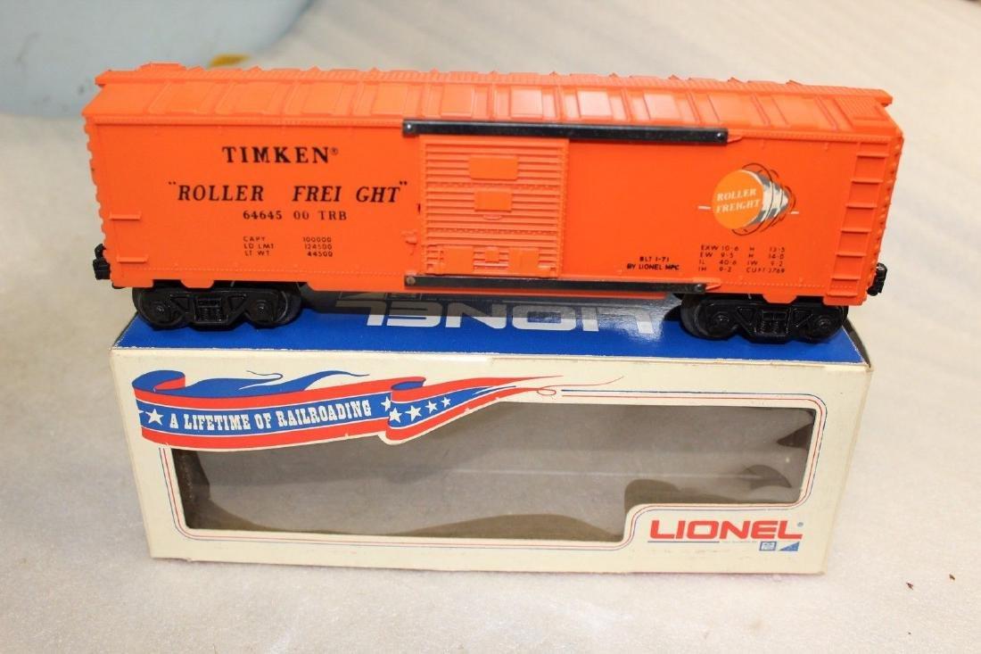 Scarce Lionel Postwar 6464-500 Glen Uhl Timken Boxcar