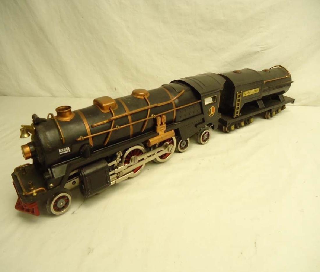 Lionel Prewar Standard Gauge 400E Engine & Tender