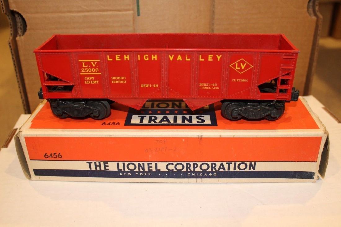 Lionel Postwar 6456 Yellow Letter Lehigh Valley Hopper