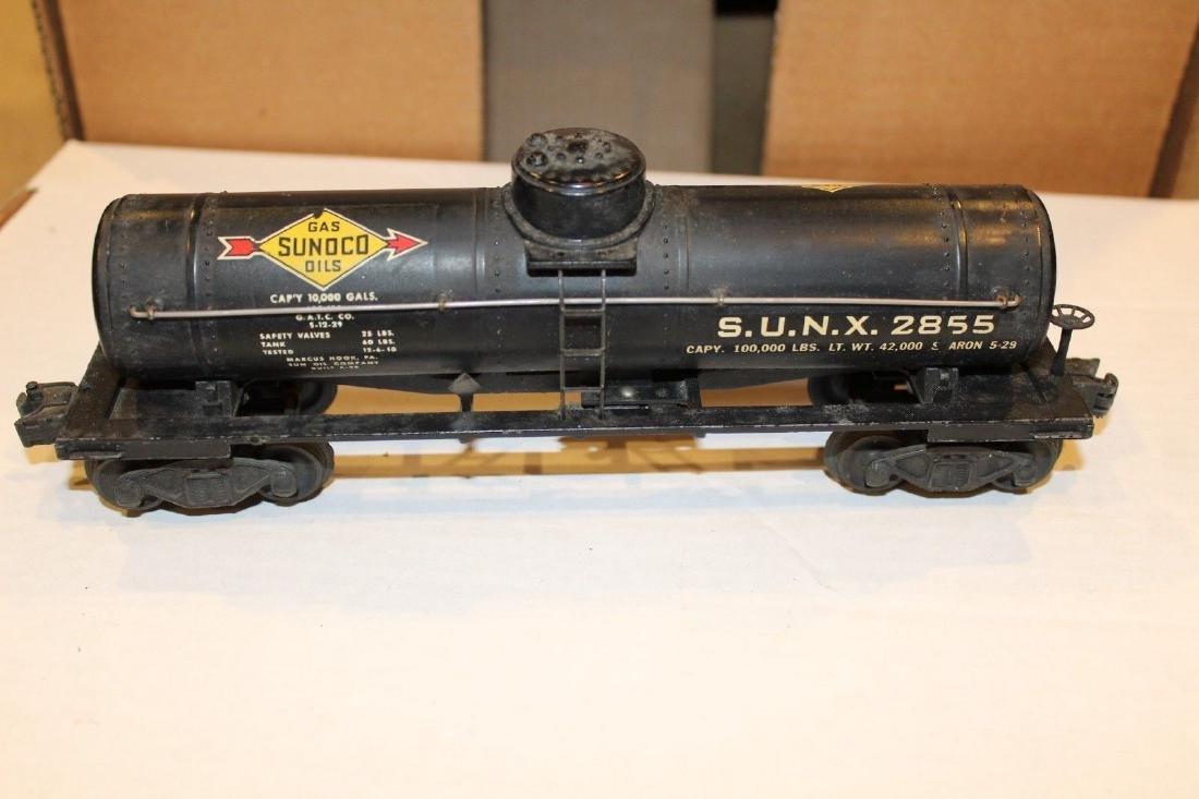 Lionel Postwar 2855 Black Sunoco Tank Car - 2