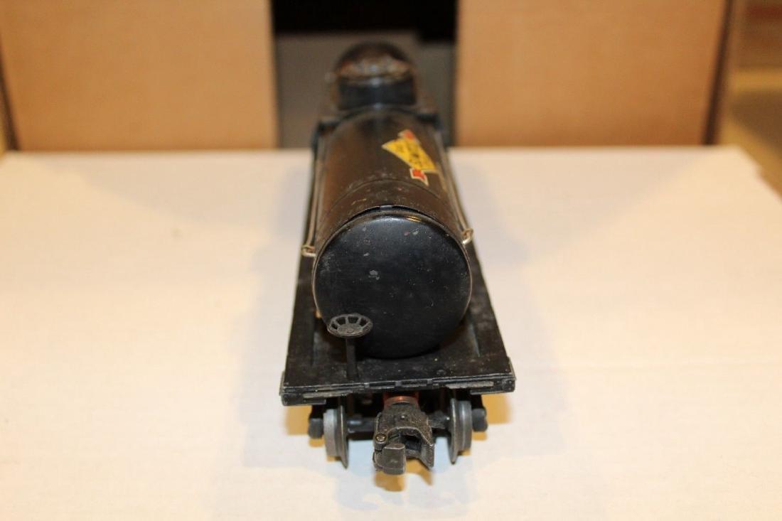 Lionel Postwar 2855 Black Sunoco Tank Car - 5
