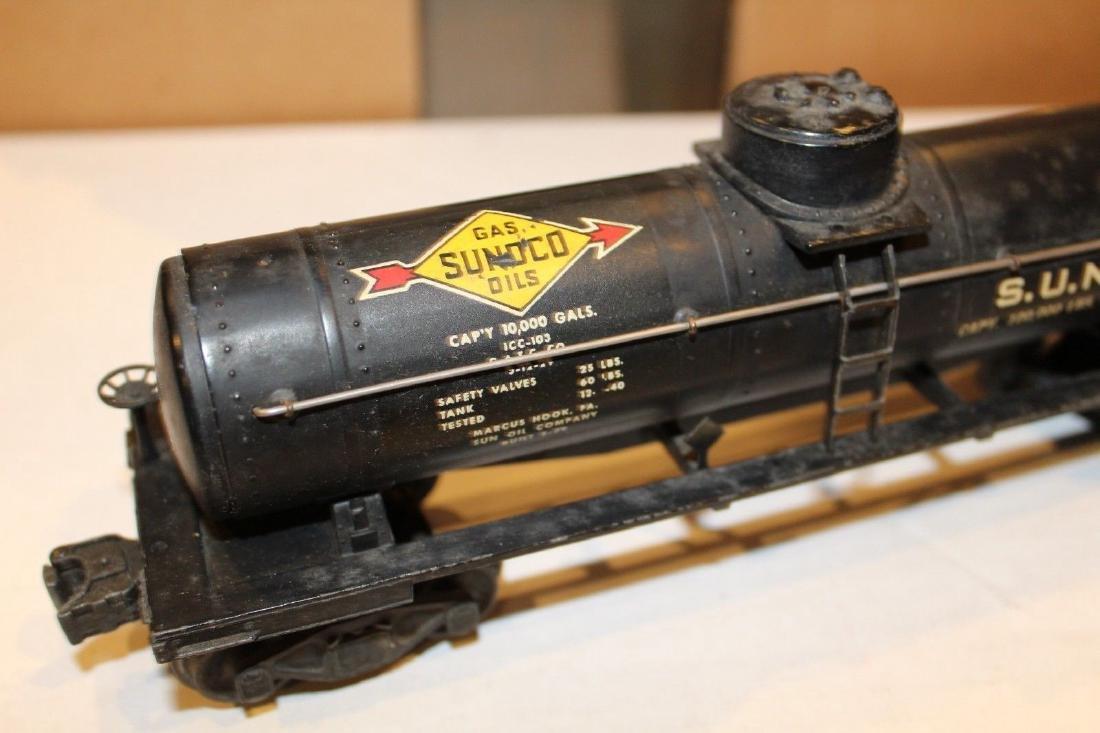 Lionel Postwar 2855 Black Sunoco Tank Car - 8
