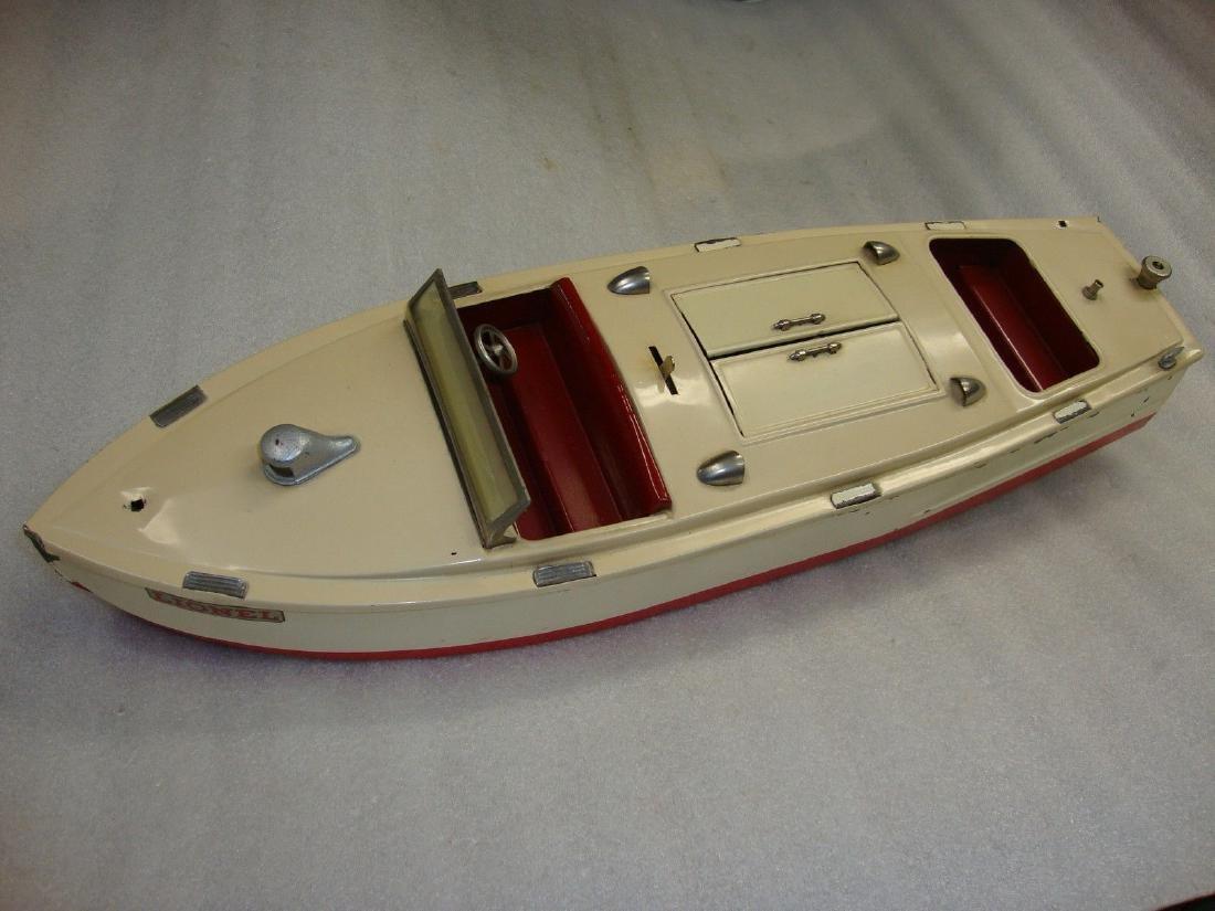 Lionel Prewar #43 Wind Up Pleasure Craft Boat