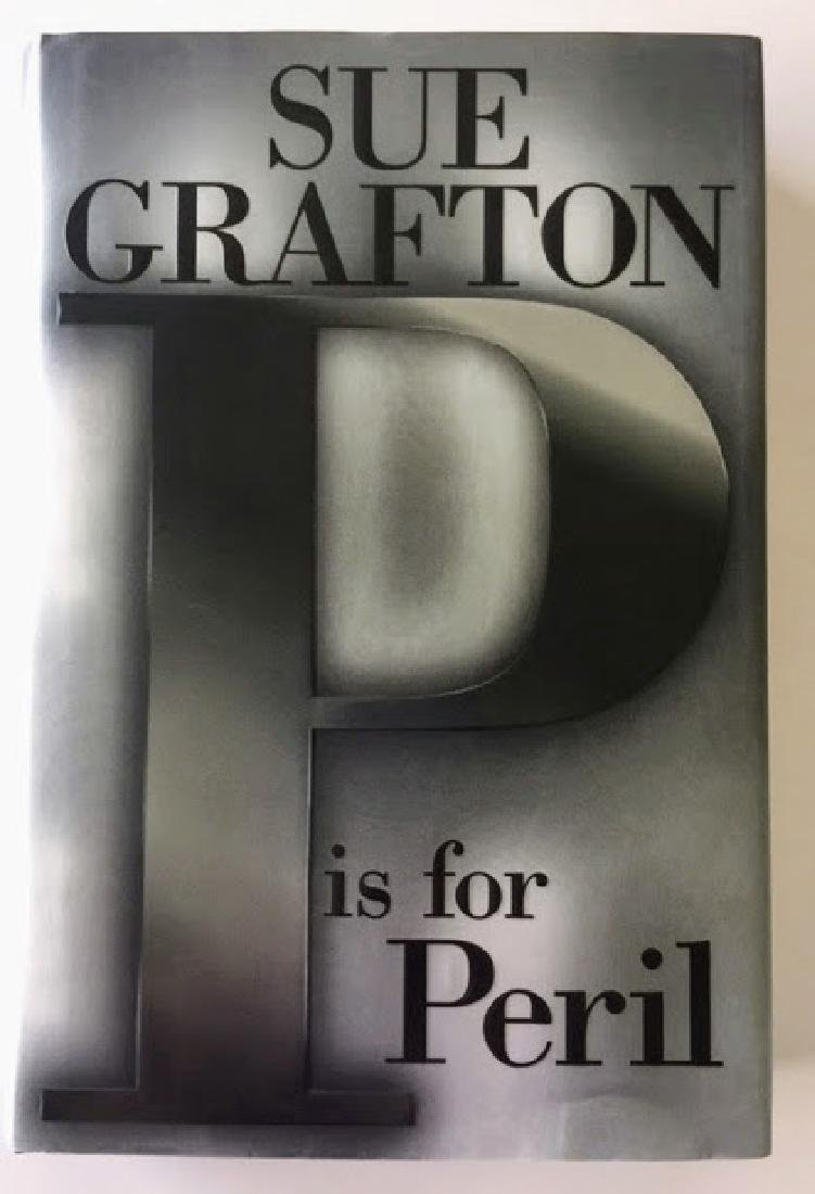SIGNED - P is for Peril. Sue Grafton.