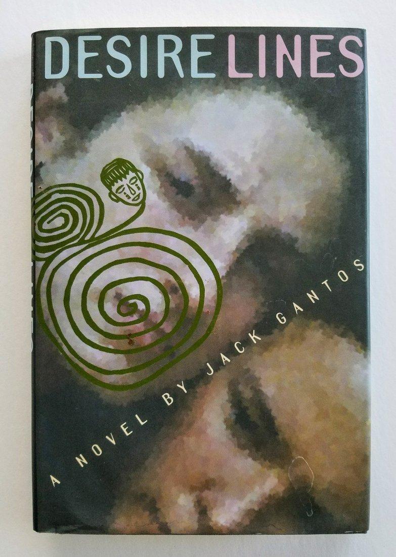 SIGNED, plus drawing! Desire Lines. Jack Gantos.