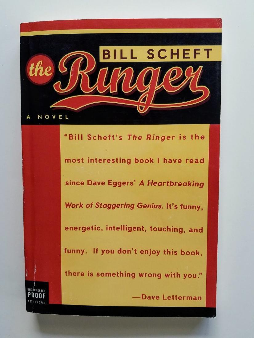 SIGNED - The Ringer. Bill Scheft.