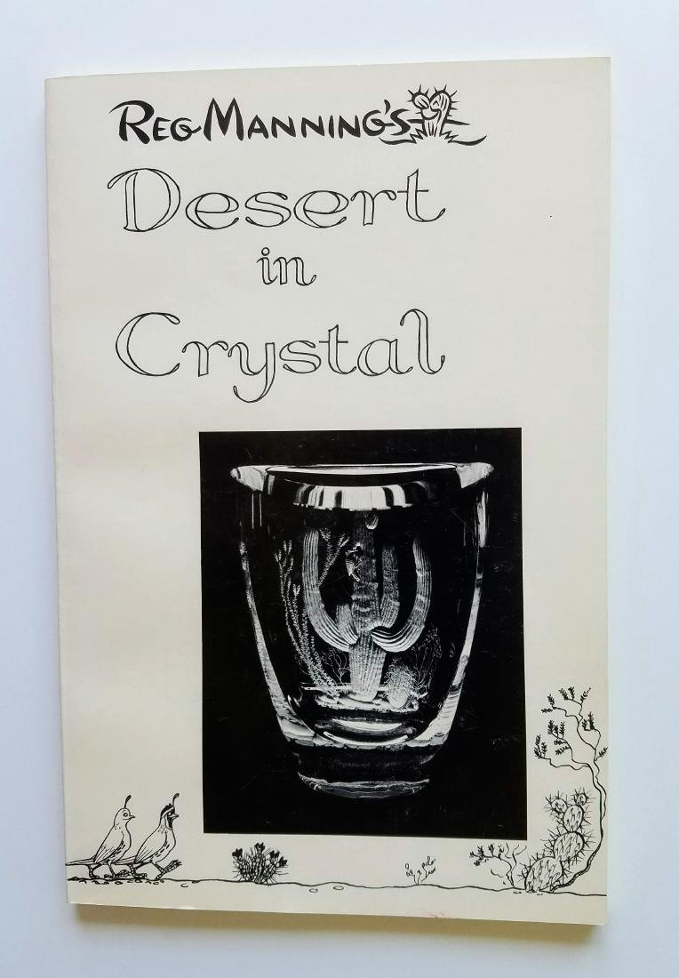 Signed with Drawing, Desert in Crystal