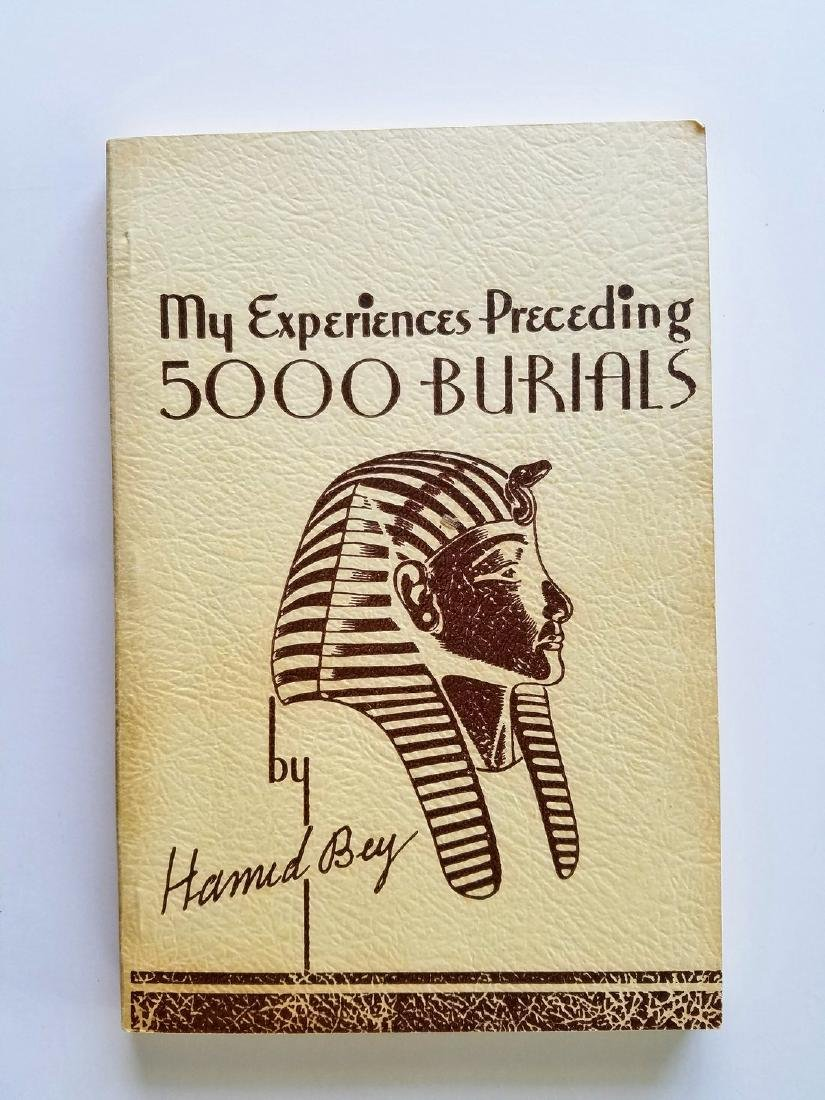 SIGNED - My Experiences Preceding 5,000 Burials.