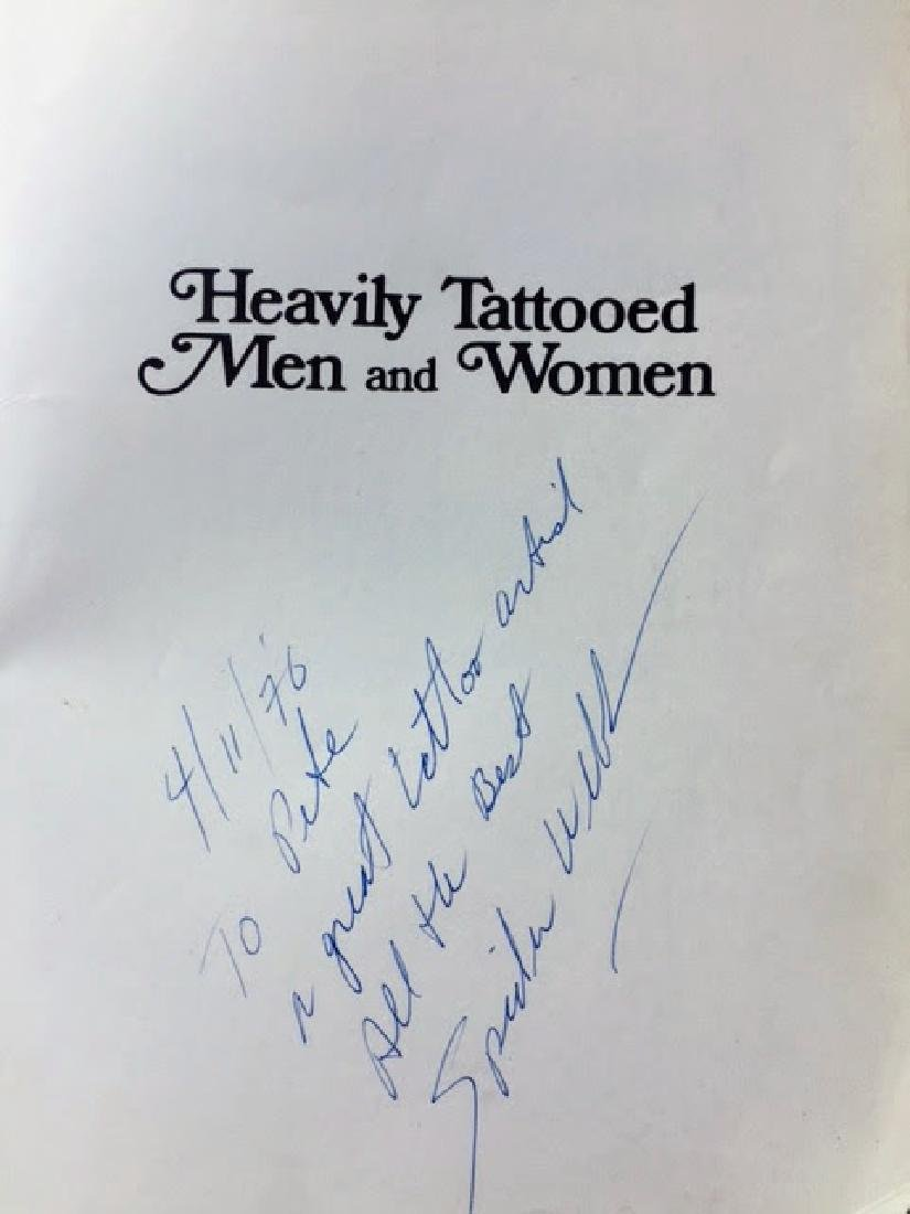 Heavily Tattooed Men and Women. SIGNED! Spider Webb. - 2