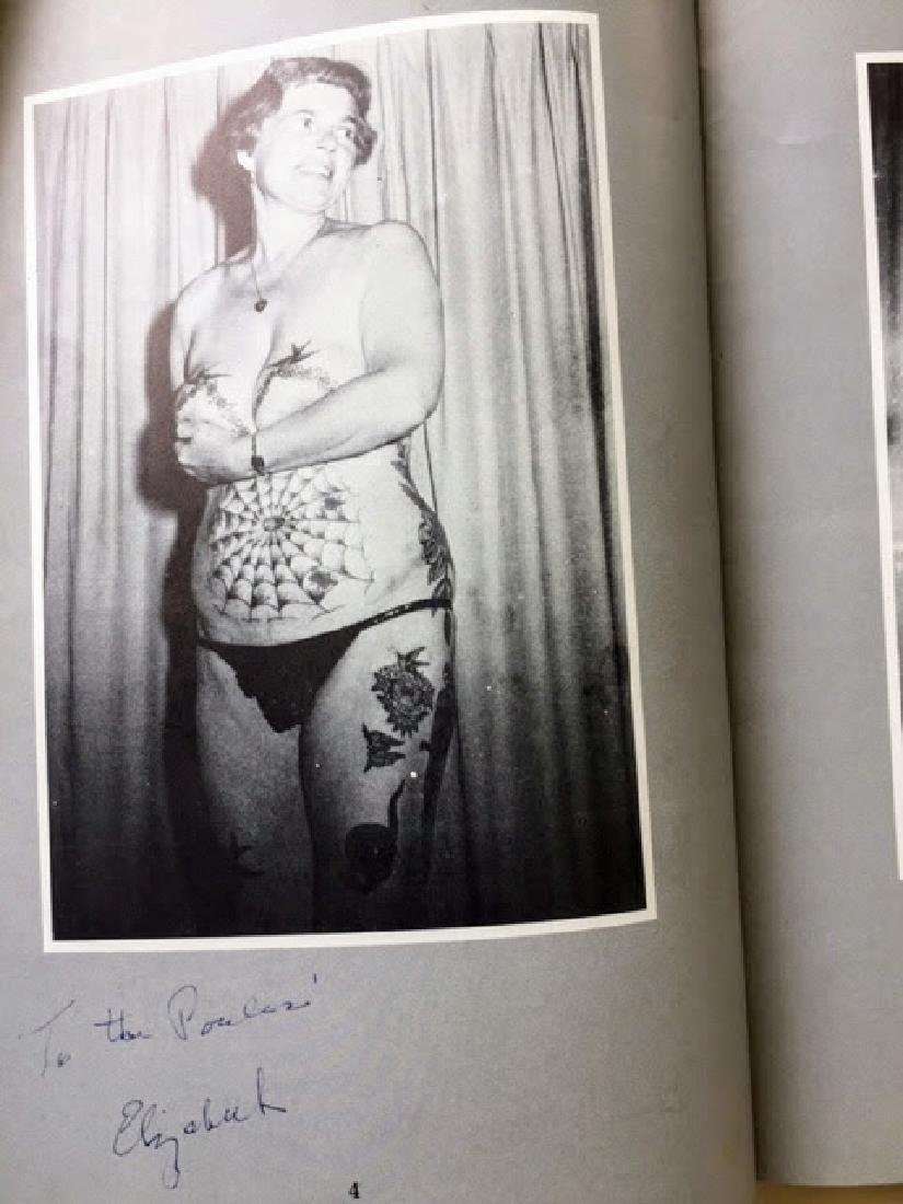 Heavily Tattooed Men and Women. SIGNED! Spider Webb. - 3