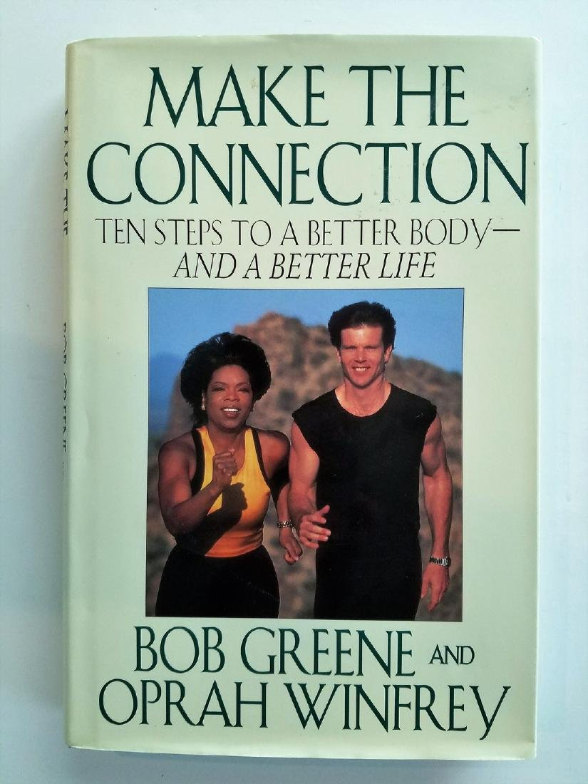 SIGNED - Oprah Winfrey, Make the Connection 10 Steps