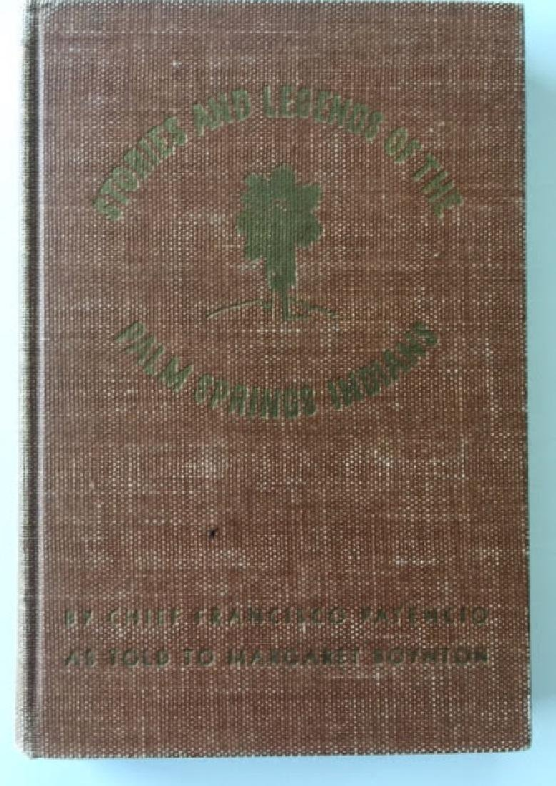 SIGNED - Stories and Legends of the Palm Spring Indians