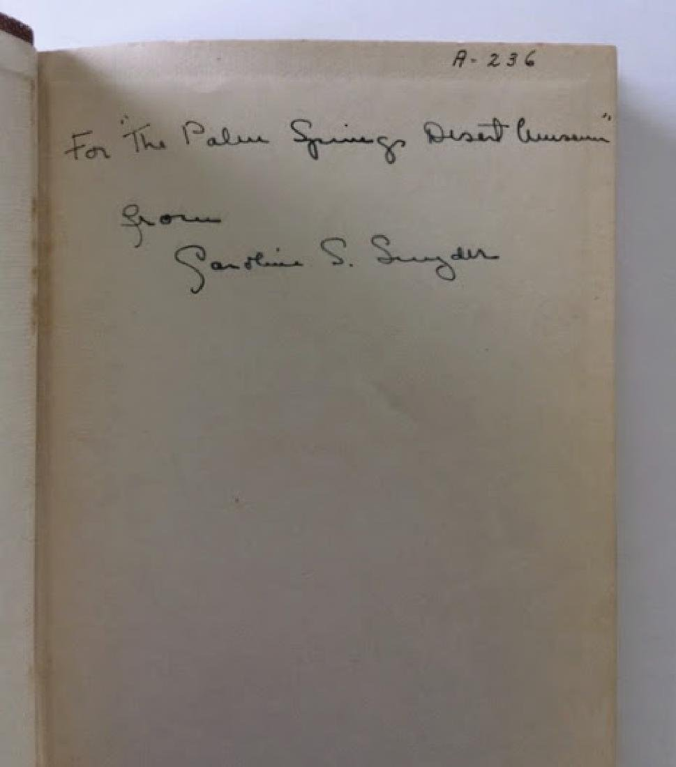 SIGNED - Stories and Legends of the Palm Spring Indians - 2