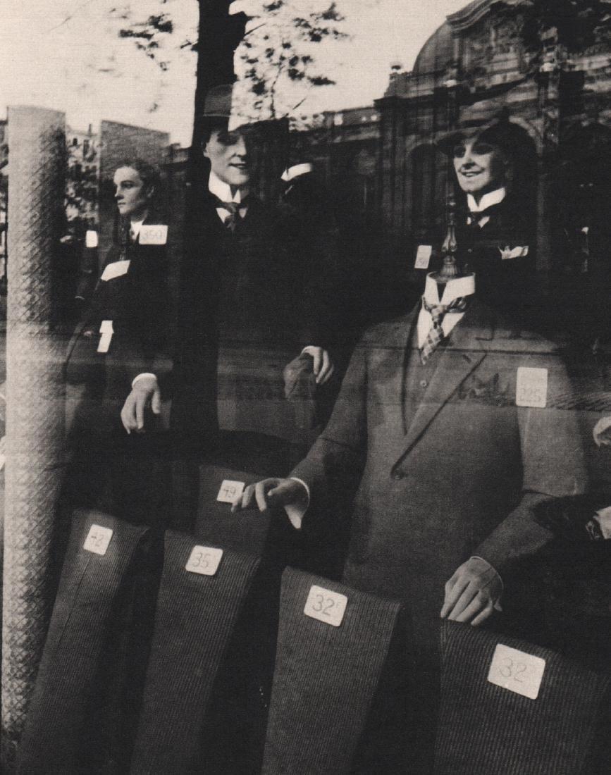 EUGENE ATGET - Shop Window, Tailor dummies