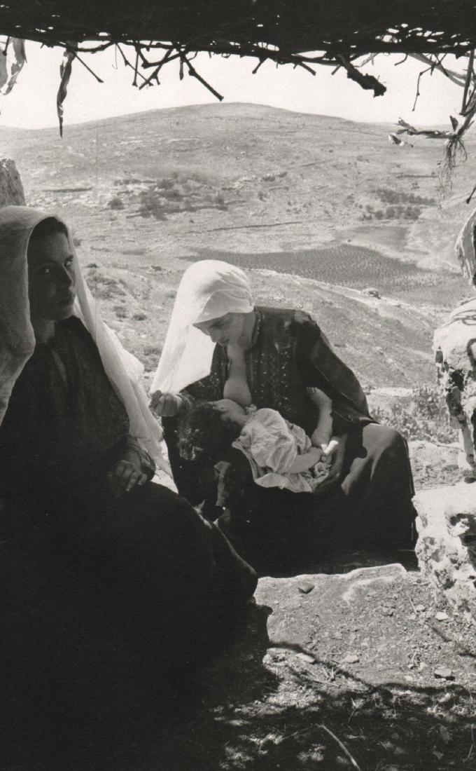 EDOUARD BOUBAT - Palestine, 1954
