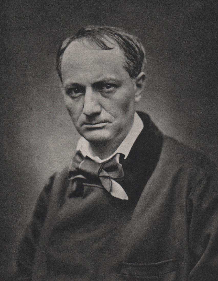ETIENNE CARJAT - Charles Baudelaire, 1863